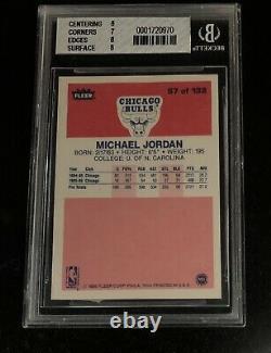 2000 Boman Chrome Tom Brady BGS 9.5 1986 Fleer Michael Jordan BGS 7.5 GOAT SHOW