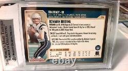2000 Bowman #236 Tom Brady NE Patriots RC Rookie BGS 8.5 NM-MT- 3 9s, 1-8.5