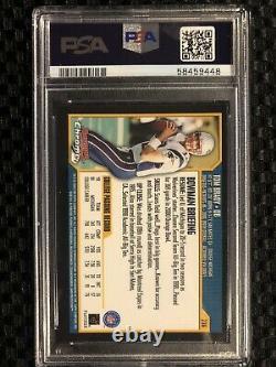 2000 Bowman CHROME TOM BRADY #236 ROOKIE PSA 8 NM/MT Rc Patriots HOF NFL CARD
