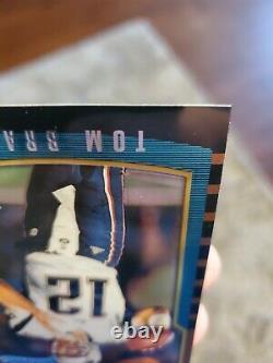 2000 Bowman Chrome #236 Tom Brady Rookie Card SP GOAT