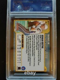 2000 Bowman Chrome #236 Tom Brady Rookie PSA 10
