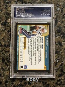 2000 Bowman Chrome Tom Brady RC #236 PSA 10 Gem Mint Rookie Top 15%