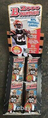 2000 Bowman NFL Football HOBBY Pack (Tom Brady Rookie Gold RC Urlacher Auto)
