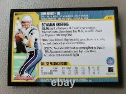 2000 Bowman Tom Brady Rookie RC #236 New England Patriots MINT RARE PSA 10