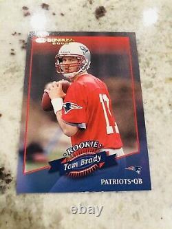 2000 Donruss #230 Tom Brady (R) (1325) Rookie RC Best QB Future HOF