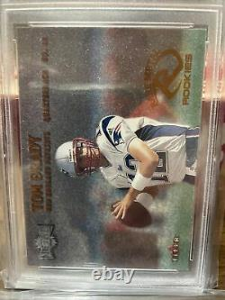 2000 Metal #267 Tom Brady New England Patriots RC Rookie PSA 6