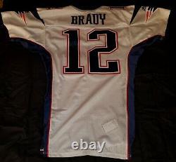 2000 New England Patriots Tom Brady Bench Game Worn Rookie Rc Autograph Jersey
