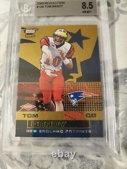 2000 Pacific revolution Tom Brady 118/300 rc