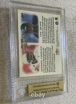 2000 Skybox Dominion #234 Tom Brady Rookie BGS 9.5 NNOF RARE ERROR POP 1