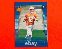 2000 Upper Deck Tom Brady Patriots / Buccaneers Rookie Card #254 EX/NM NICE