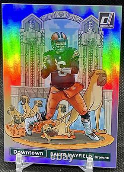Baker Mayfield 2021 Donruss Football DOWNTOWN Case Hit! Browns