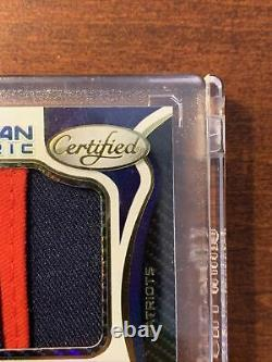 MAC JONES ROOKIE AUTO RPA 2021 Panini Certified Freshman Fabric #206 #D /199