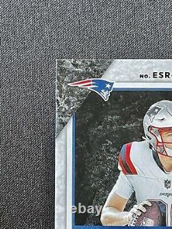 Mac Jones 2021 Donruss Elite Series Parallel Card Auto /99 SP RC- Patriots