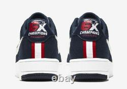 Men's Nike Air Force 1 Ultra Flyknit New England Patriots 6x Champs CU9335-400