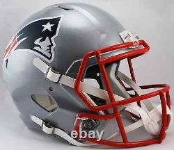 NEW ENGLAND PATRIOTS NFL Riddell SPEED Full Size Replica Football Helmet