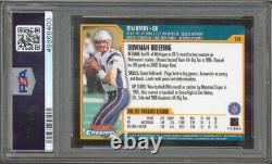 Patriots Tom Brady 2000 Bowman Chrome #236 Rookie Card Grade Mint 9 PSA Slabbed