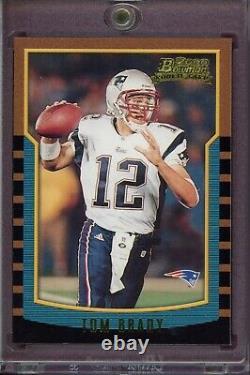 TOM BRADY 2000 Bowman Rookie Card RC #236