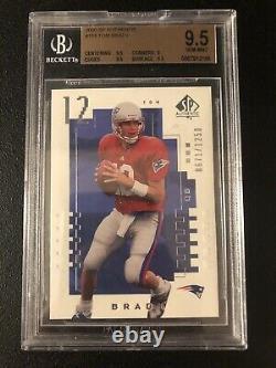 Tom Brady 2000 SP Authentic Rookie Card