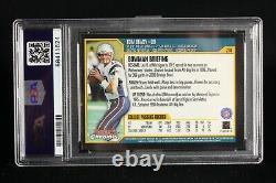 Tom Brady Rookie Card 2000 Bowman Chrome #236 New England Patriots PSA 8 NM MT
