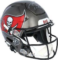 Tom Brady Tampa Bay Buccaneers Autographed Riddell Speed Flex Authentic Helmet
