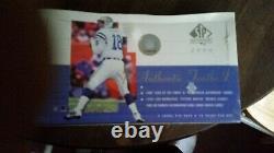 Upper Deck 2000 SP Authentic Football Hobby Box/ Tom Brady rc/ unopened box