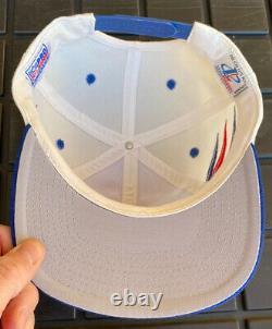 Vintage 90s New England Patriots Logo Athletic Diamond SnapBack Hat Cap NFL