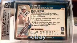 2000 Bowman #236 Tom Brady Ne Patriots Rc Rookie Bgs 8,5 Nm-mt- 3 9s, 1-8.5