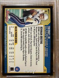 2000 Bowman #236 Tom Brady Patriots Bucs Rc Rookie Psa 7 Nm Belle Carte