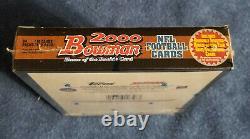 2000 Bowman Cartes De Football Hobby Box / Topps Scellé / Tom Brady Rookie