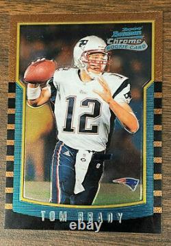 2000 Bowman Chrome #236 Tom Brady Rookie. Ex+