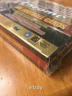 2000 Bowman Chrome Football Hobby Box Usine Scellé Tom Brady Rookie Refracteur