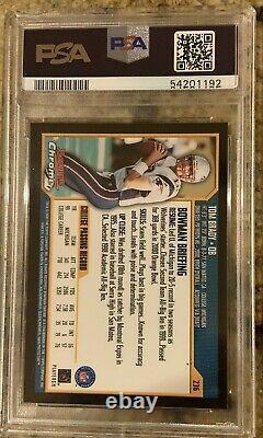2000 Bowman Chrome Tom Brady Rc Rookie Psa 10 #236 Chèvre! Impeccable! Rare