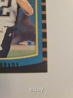 2000 Bowman Tom Brady Rookie Card #236 Hof Investissement