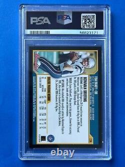 2000 Bowman Tom Brady Rookie Rc Card #236 Psa 7 Patriotes De La Nouvelle-angleterre Tb12 Goat