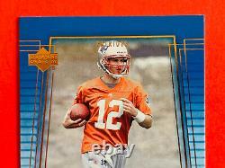2000 Deck Supérieur Tom Brady Patriots / Buccaneers Rookie Card #254 Ex/nm Nice