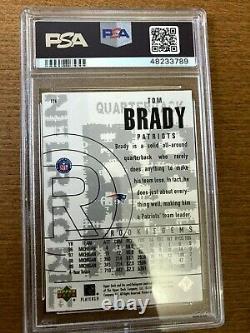 2000 Diamant Noir #126 Tom Brady Psa 4 (vg-ex) Rookie