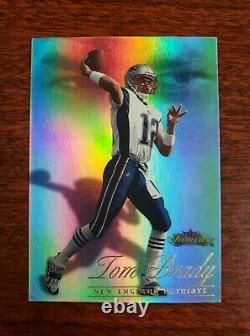 2000 Fleer Showcase Tom Brady Rookie Card Série #0632/2000 Rc Grand Investissement
