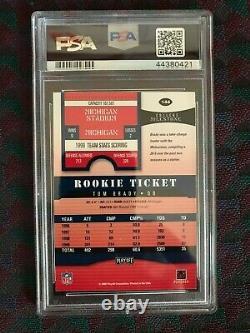 2000 Playoff Contenders #144 Tom Brady Rookie Card Psa 7 Nm Auto 9 Beautiful NFL