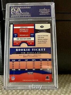 2000 Playoff Contenders #144 Tom Brady Rookie Card Psa 8.5 Rare Auto