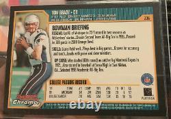 2000 Tom Brady Arcman Chrome #236
