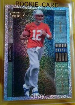 2000 Tom Brady Rookie Upper Deck Ultimate Victory. Sp15/25-10