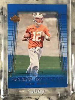 2000 Upper Deck Star Rookie Tom Brady Rookie Rc #254