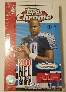 2006 Topps Chrome Football Factory Scellé Hobby Box