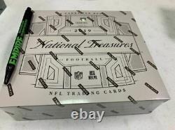 2019 Panini National Treasures NFL Football Hobby Box
