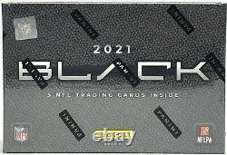 2021 Panini Black NFL Usine De Football Scellée Hobby Box
