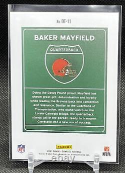 Baker Mayfield 2021 Donruss Football Downtown Case Hit! Marronneries