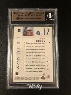 Carte Rookie Authentique De Tom Brady 2000 Sp