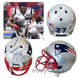 J. C. Jackson Rookie Super Bowl 53 Jeu D'occasion Worn New England Patriots Casque NFL