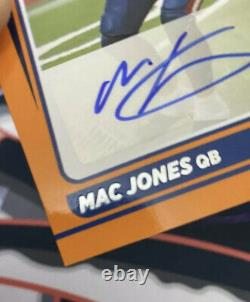Mac Jones Auto Orange Ssp Rated Rookie 2021 Donruss Football #255 Raw