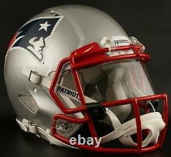 New England Patriots NFL Riddell Speed Casque De Football Authentique Grandeur Pleine